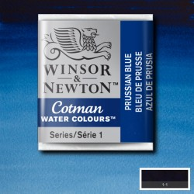 W&N 538 Prussian Blue pastilla