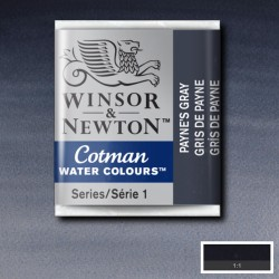 W&N 465 Payne's Gray pastilla