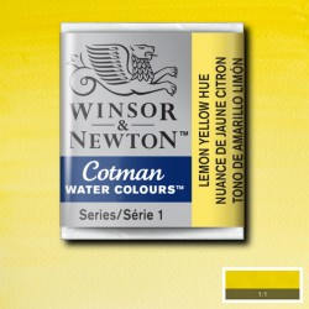 W&N 346 Lemon Yellow pastilla