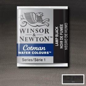 W&N 337 Lamp Black pastilla