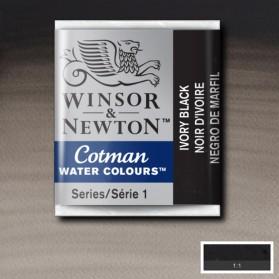 W&N 331 Ivory Black pastilla