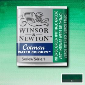 W&N 329 Intense Green pastilla