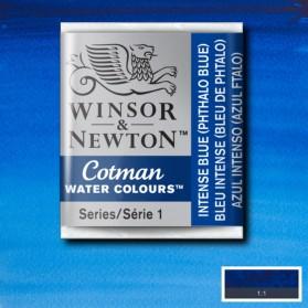 W&N 327 Intense Blue pastilla