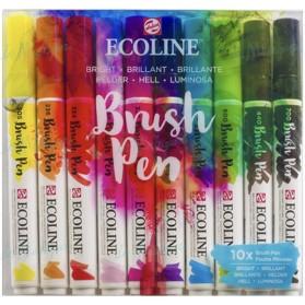 Set Ecoline Brush Pen 10...