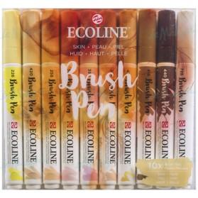 Set Ecoline Brush Pen 10 Piel