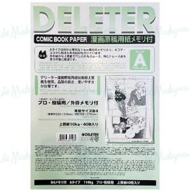 Deleter Comic Paper B4 110g...