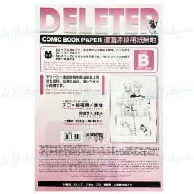 Deleter Comic Paper B4 135g...