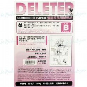 Deleter Comic Paper A4 135g...