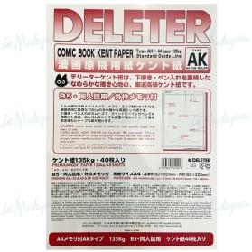 Deleter Comic Kent Paper A4...