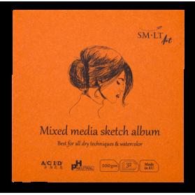 AuthenticBook Mix Media 14x14
