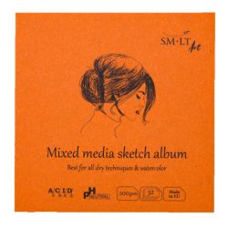 AuthenticBook Mix Media...