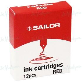 Cartuchos Sailor Rojo