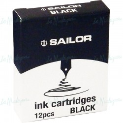 Cartuchos Sailor Negro