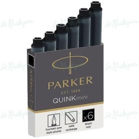 Cartuchos Parker negro
