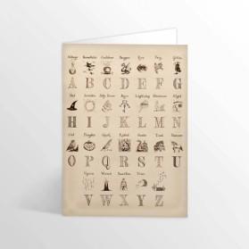 MI Harry's Alphabet Foiled...