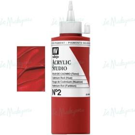 Acrylic Studio 002 Rojo Cadmio