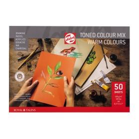 Toned Paper Mix Cálido, A4