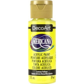 Americana DA011 Lemon Yellow