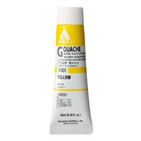 Acryla Gouache D031 Yellow