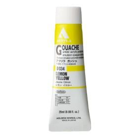 Acryla Gouache D034 Lemon...