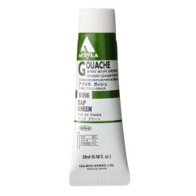 Acryla Gouache D066 Sap Green