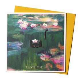 NI Clawed Monet Postal