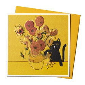 NI Vincent's cat Postal