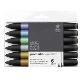 Set Promarker 6 Metallic