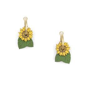 Pendientes Sunflower Fields
