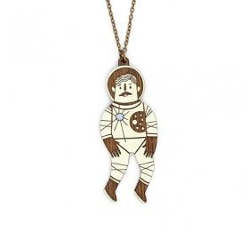 Collar de astronauta piloto