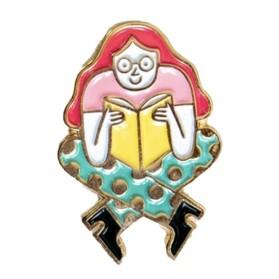 AS Girl Pin
