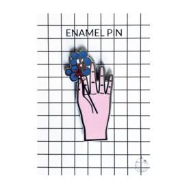 Pin Flower Hand