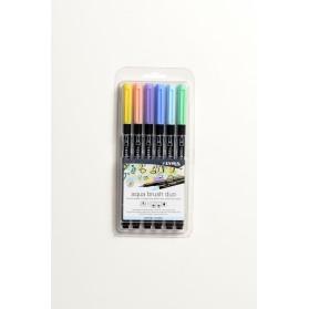 Set Lyra Aqua Brush 6 Pastel