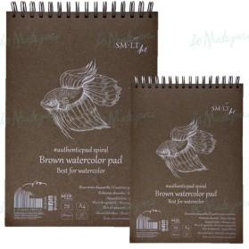 Brown Watercolour Pad