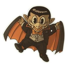Kyuka Dracula pegatina