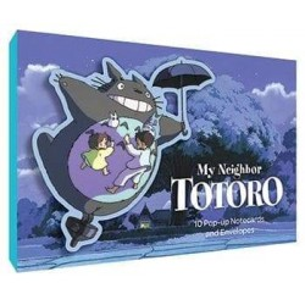 10 Postales Pop Up Totoro