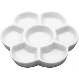 Paleta flor porcelana 15 cm