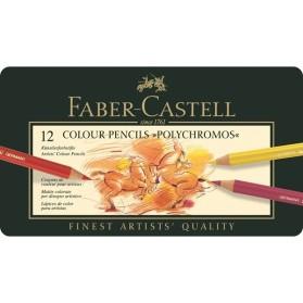 Caja 12 Polychromos Faber...