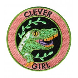 Parche Clever Girl