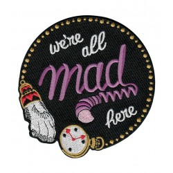 LB Parche We are all mad here