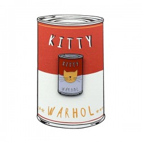 NI Warhol Pin