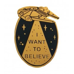 LB I want to believe pin
