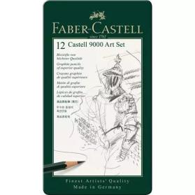 Caja 12 lápices Castell...