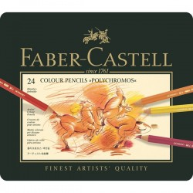 Caja 24 Polychromos Faber...