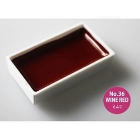 Gansai Tambi 36 Wine Red
