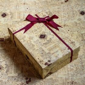 Papel de regalo Mapa del...