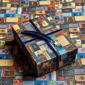 Papel de regalo Book Covers