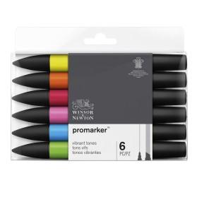 Set Promarker 6 Vibrantes