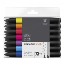 Set Promarker Brush 12+1...