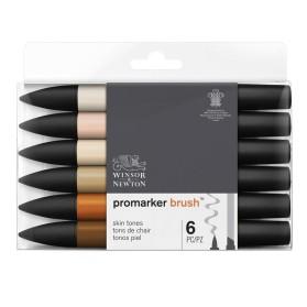 Set Promarker Brush 6 Piel